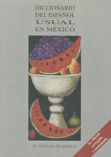 diccionario del español usual en mexico