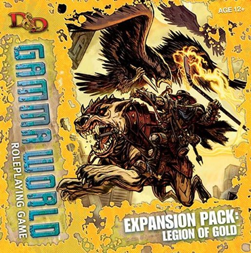 d&d gamma world expansion: legion of gold,a d&d genre supplement