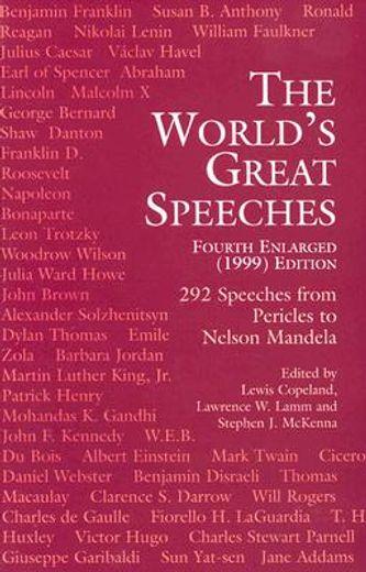world´s great speeches