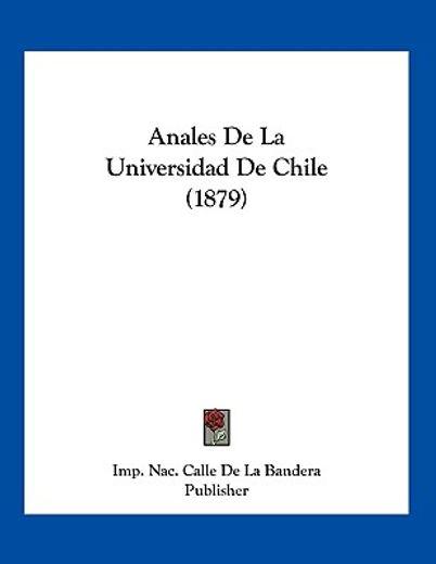 anales de la universidad de chile (1879)